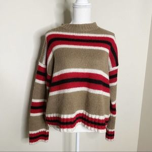 Urban Outfitters Chunky Striped Sweater Size XS